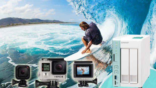 An Affordable, Solid and Convenient Way to Store and Access your GoPro Media