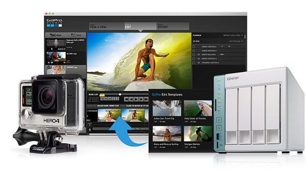 Access, Edit, Save and Share Your GoPro Media with Your QNAP NAS and GoPro Apps