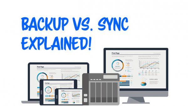 Sync vs  Backup Explained   QNAP Tech Lounge
