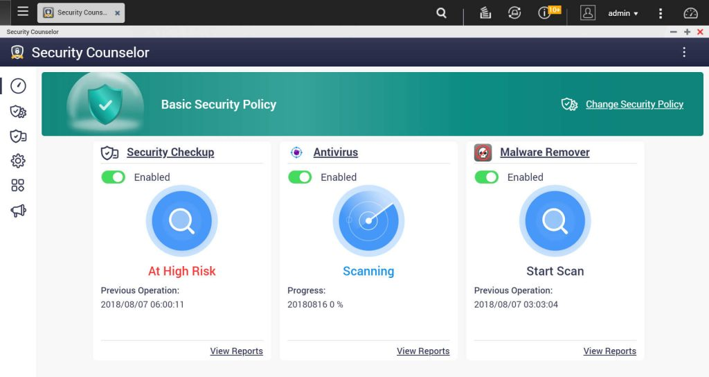 Overview in Security Counselor.