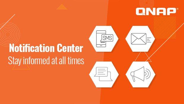 The new Notification Center enables preemptive IT maintenance – QTS 4.3.5 Special Issue