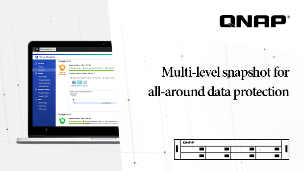 Multi-level snapshots for all-around data protection – QTS 4.3.5 Special Issue