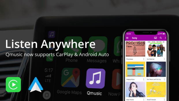 How to Setup Qmusic on Apple CarPlay and Android Auto
