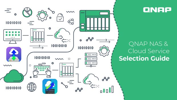 Read this before building your hybrid cloud storage: how to select a QNAP NAS and a cloud service